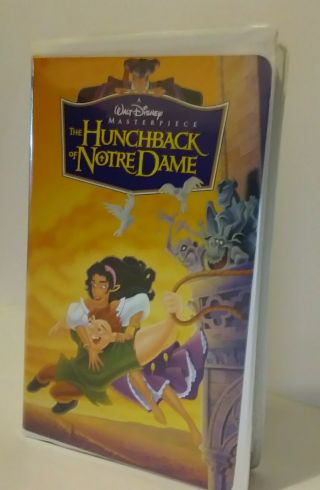 Rare Walt Disney Home Video Vhs The Hunchback Of Notre Dame.  7955a