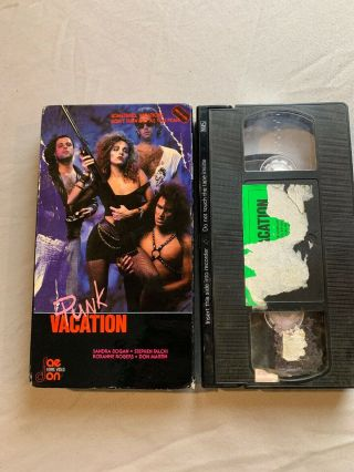 Punk Vacation Rare Vhs Cult Classic Raedon Home Video Needs Cleaning Htf