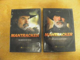 Mantracker The Complete First And Second Season Dvd Extremely Rare
