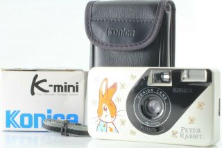 [rare In Box] Konica K - Mini Limited Edition Peter Rabbit From Japan