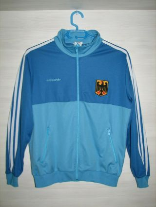 Ultra Rare Germany 1986 - 88 Jacket Olympic National Team Adidas Size M