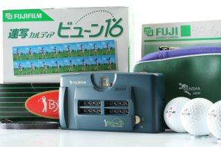 Rare 【unused】 Fujifilm Fuji Rensya Byu - N 16 35mmm Film Camera Japan 1705