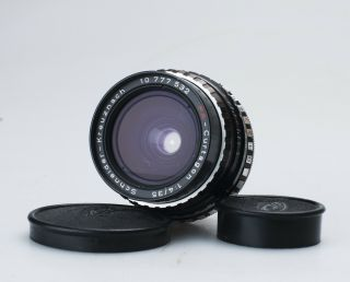 Schneider Pa - Curtagon 35mm F/4 Wide Angle Shift Lens Topcon Mount Rare