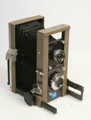 Rare Keith Twin Lens Camera 150mm Linhof Xenar Taking Lens - Gowlandflex