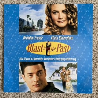 Blast From The Past Laserdisc - Alicia Silverstone - Ultra Rare Late Release