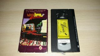 Vhs Woodchipper Massacre Rare Htf