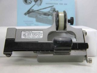 Rare Pro Catozzo Regular 8mm Film Splicer With Splicing Tape Nicely