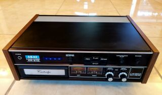 Akai Cr - 81d 8 Track Tape Deck Player Recorder Rare In This Cond
