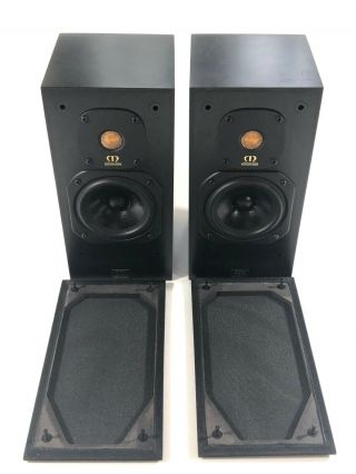 Monitor Audio Monitor 7 Gold Mk Ii British Made Audiophile Speakers Pair - Rare