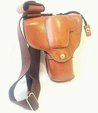 Rare Leather Dslr Camera Holster Skytop Trading Company Handcrafted Wet Molded