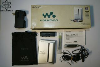 Extremely Rare Complete Set Sony Walkman Wm - Ex910