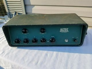 Rare Altec Lansing 342a Mixing Amplifier