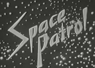 "16mm "" Space Patrol "" Rare Network Print With Commercials"