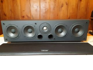 Polk Audio Cs350 - Ls Center 250wrms Rare