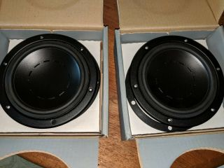Dynaudio 17w75 Pair - Rare Originals - Nos