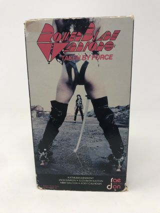 "Roller Blade Warriors - Rare Video - "" Taken By Force "" - Raedon Label"