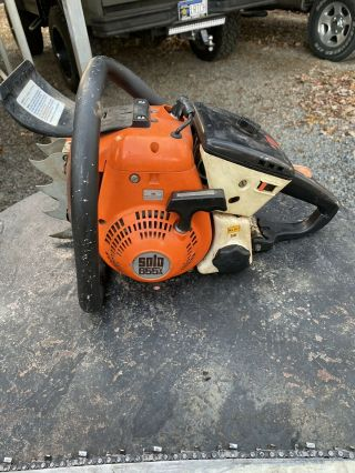 Solo 655av Chainsaw 70cc Rare Powerhouse Muscle Saw Stihl Echo Husqvarna Dolmar