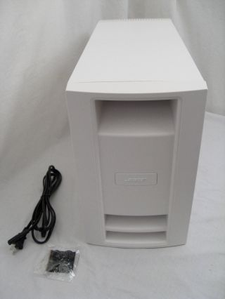 Rare White Bose Lifestyle Ps35 Iii Subwoofer For V35 Av35 V25 Ps28 Ps48