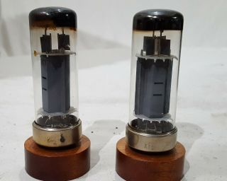 Very Rare Mullard 6ca7/el34 Tubes Identical Markings